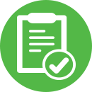 Questionnaire icon (mobile)